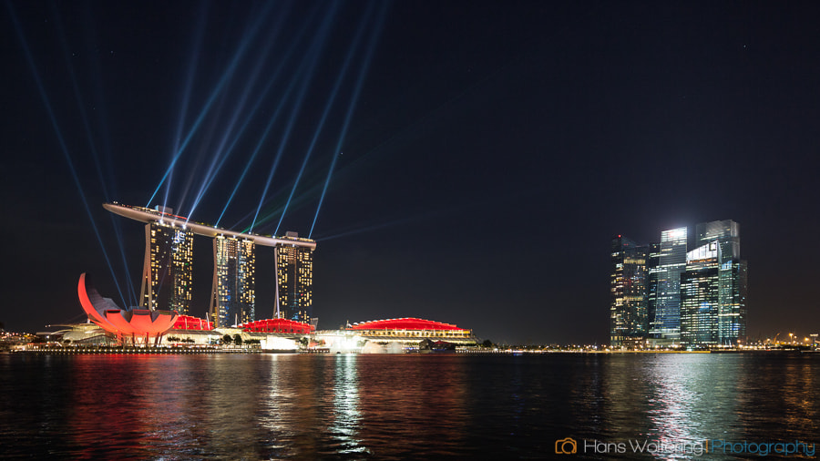 Photograph Marina Bay Sands, Singapore by Hans Woltering on 500px