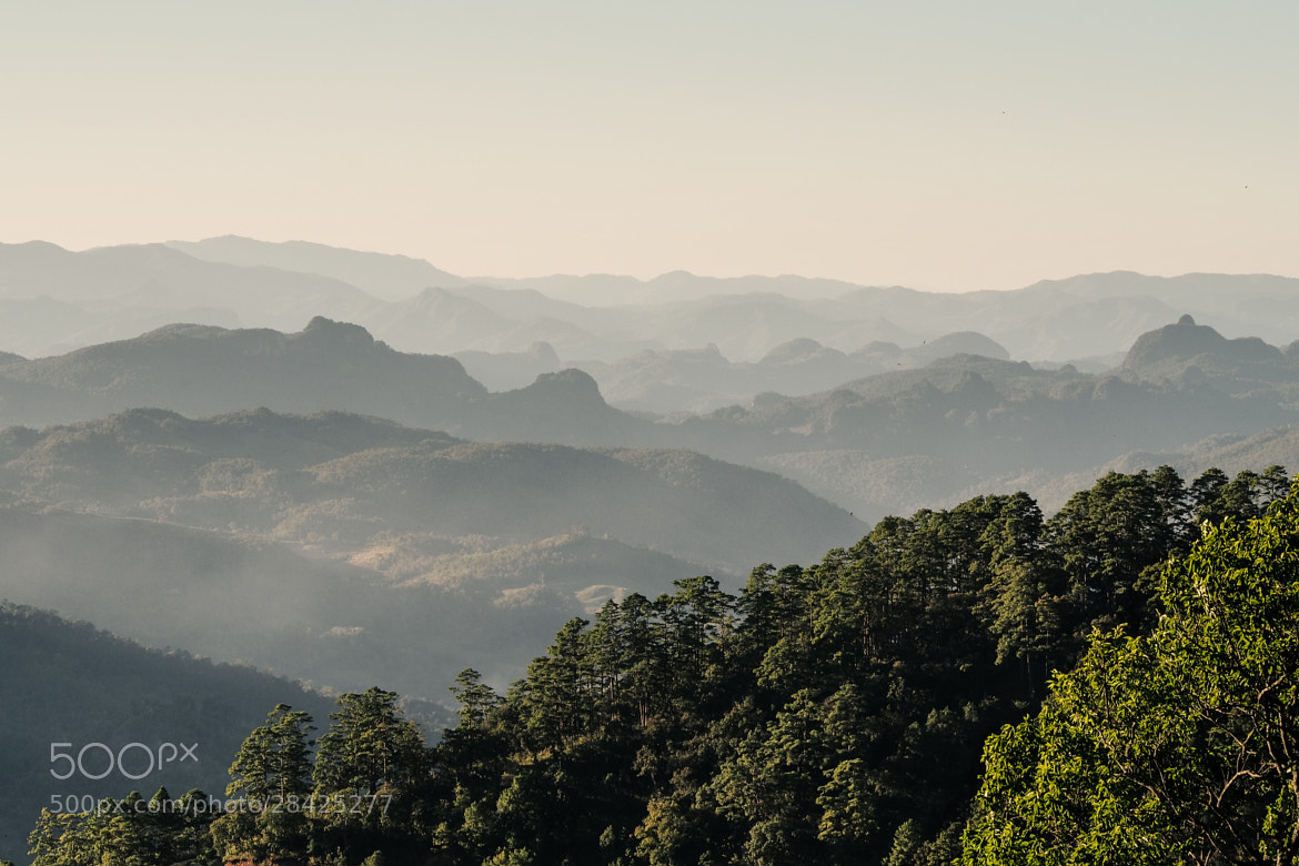 Photograph Sunset over Mae Hong Son province II by Martin Kaspar Reiser on 500px