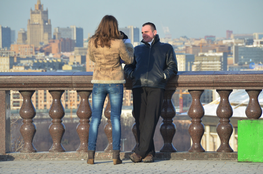 Photograph Capturing With the View of Moscow by Korhan Karagulle on 500px