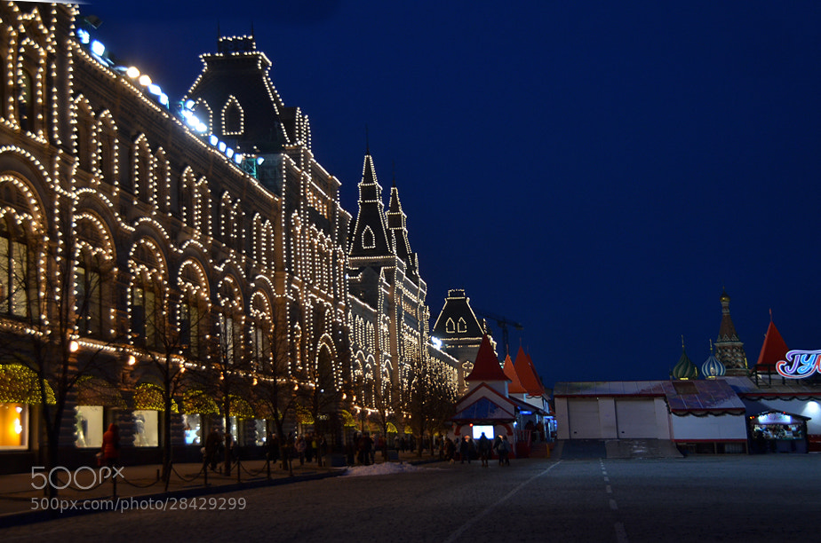 Photograph Red Square Lights / Moscow by Korhan Karagulle on 500px