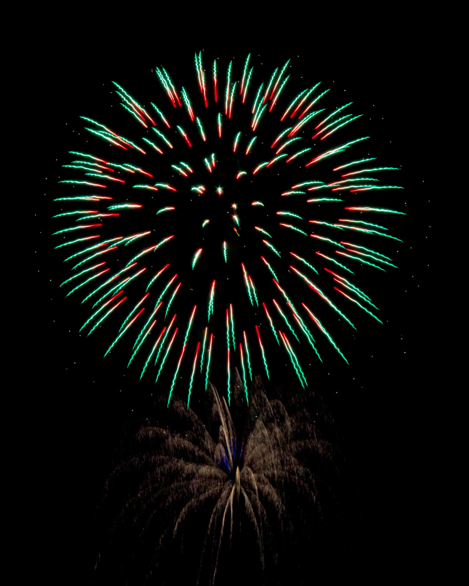 Photograph Multicolored Firework Burst by Maria Brown on 500px