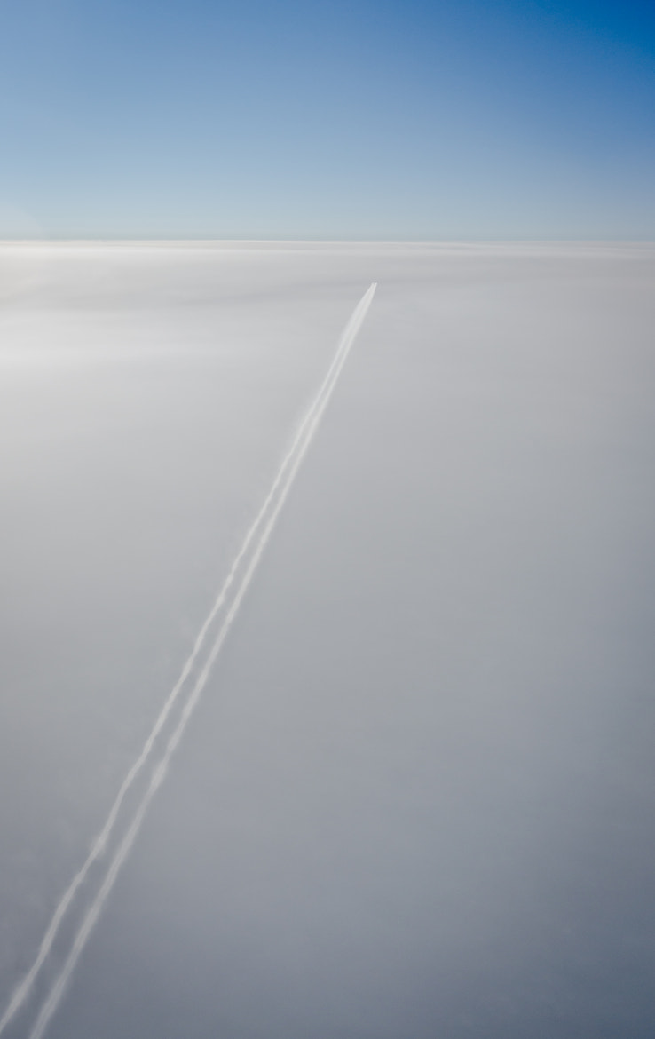 Photograph contrail by LaDonna Pride on 500px