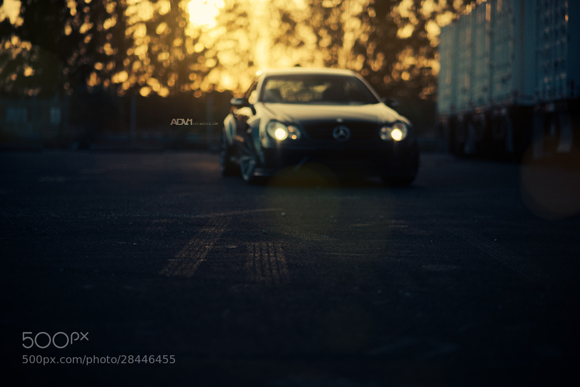 Photograph Mercedes Black Series by William Stern on 500px
