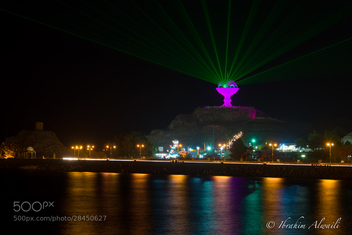 Photograph Muscat lights show by Ibrahim AlWaili on 500px