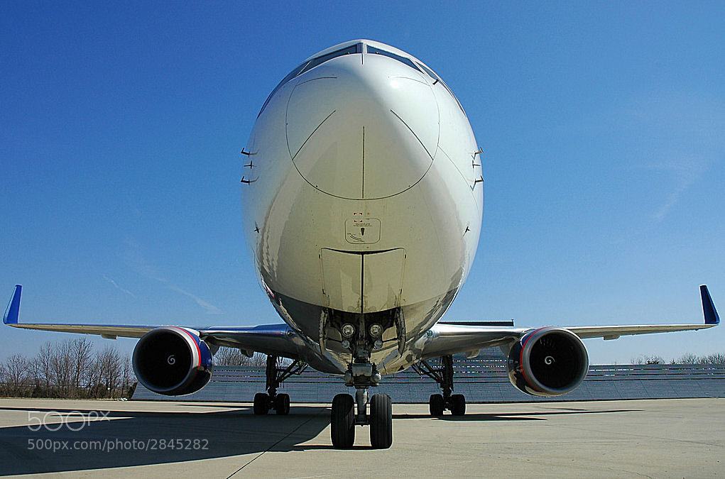 Photograph Delta 767-300 Up Close by DPImage Capturing on 500px