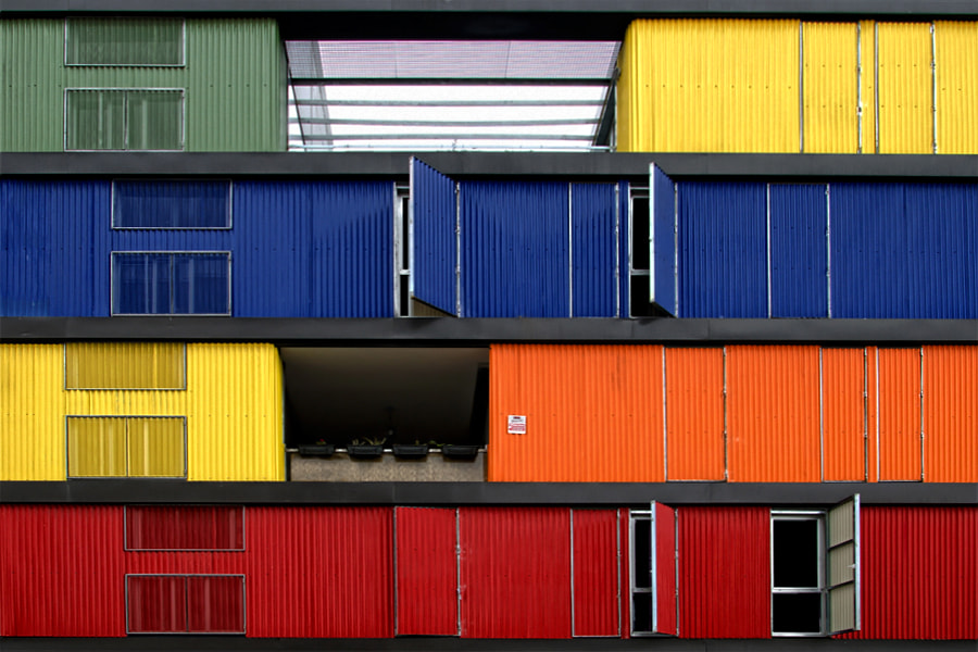 Photograph Container House by Alfon No on 500px