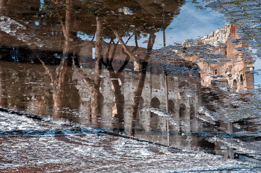 Photograph Colosseum reflection 2 by Sandro L. on 500px