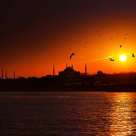 Historic Peninsula of Istanbul..