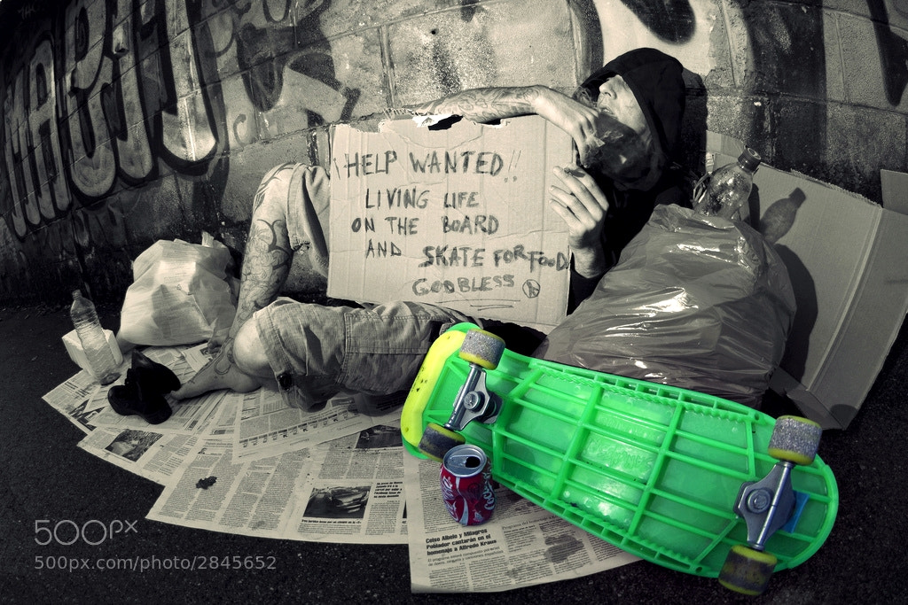 Photograph Skate for food by rodri mm on 500px