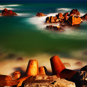 Calm sea by gwang_Bok Bak (gwangbok)) on 500px.com
