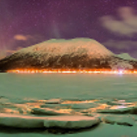 Northern Light panorama by Joris Kiredjian (kiredjian)) on 500px.com