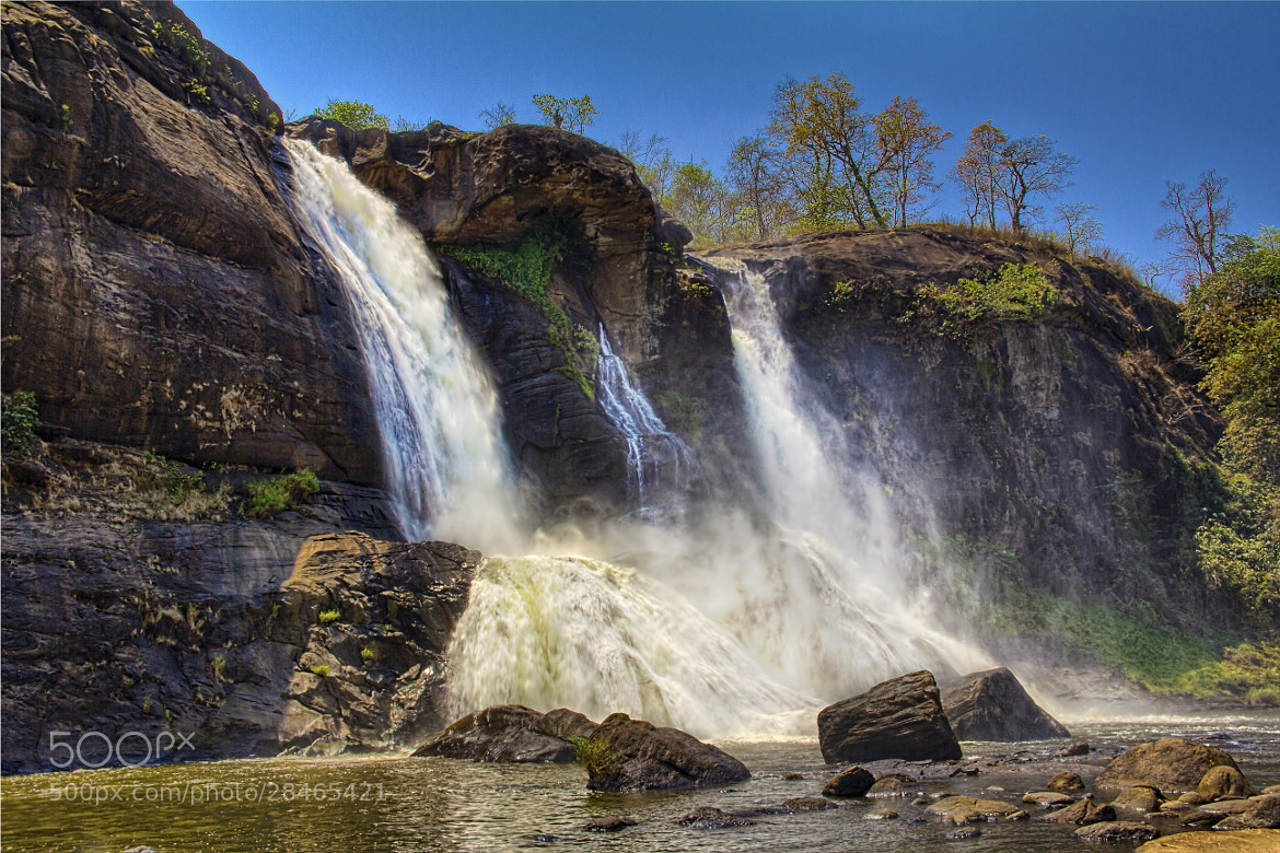 Photograph Athirapally waterfalls- 2 by Sreekumar  Mahadevan Pillai on 500px