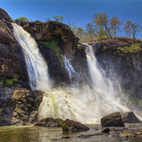 Athirapally waterfalls- 2 by Sreekumar  Mahadevan Pillai (drsreekumarm2000)) on 500px.com