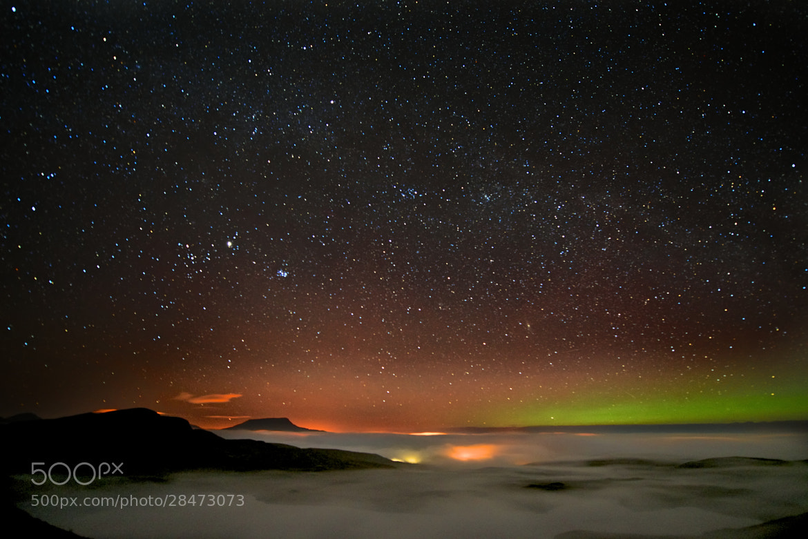 Photograph Celestial heavens above Donegal by Trevor Cole on 500px