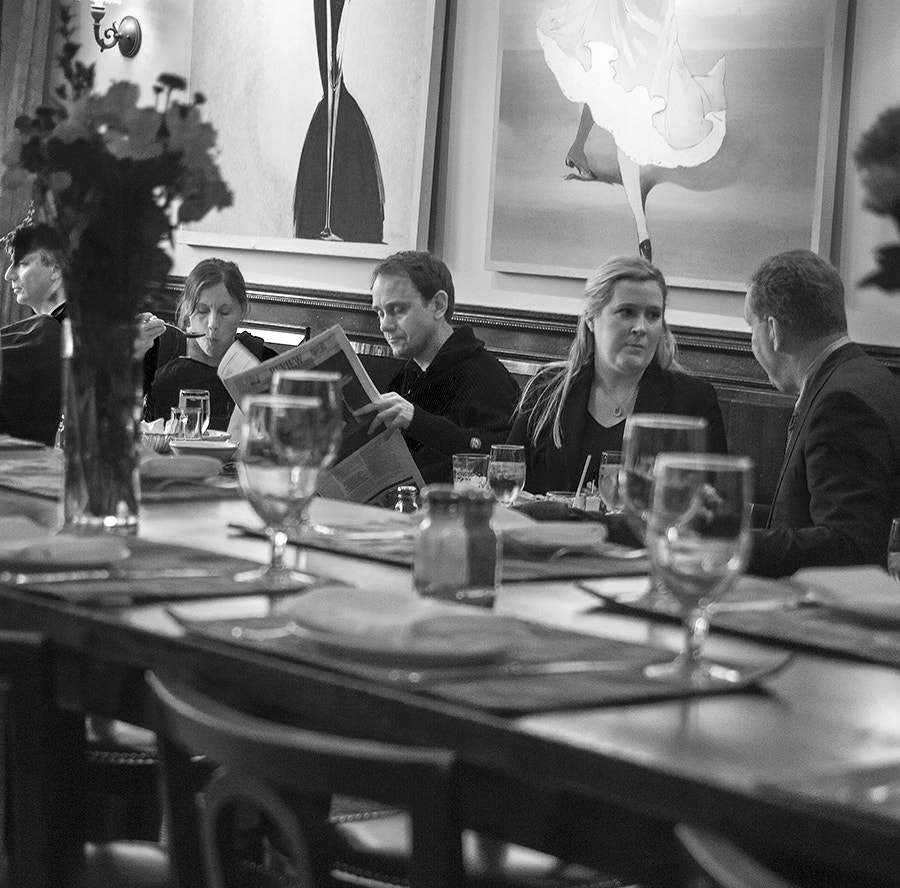Photograph Random Scene from a French Bistro by Ballroom Pics on 500px