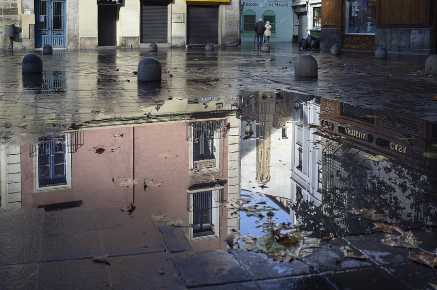 Tower's puddle by Ana V. on 500px.com