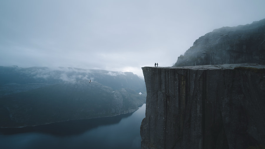 Preikestolen Love by Valdemaras D. on 500px.com