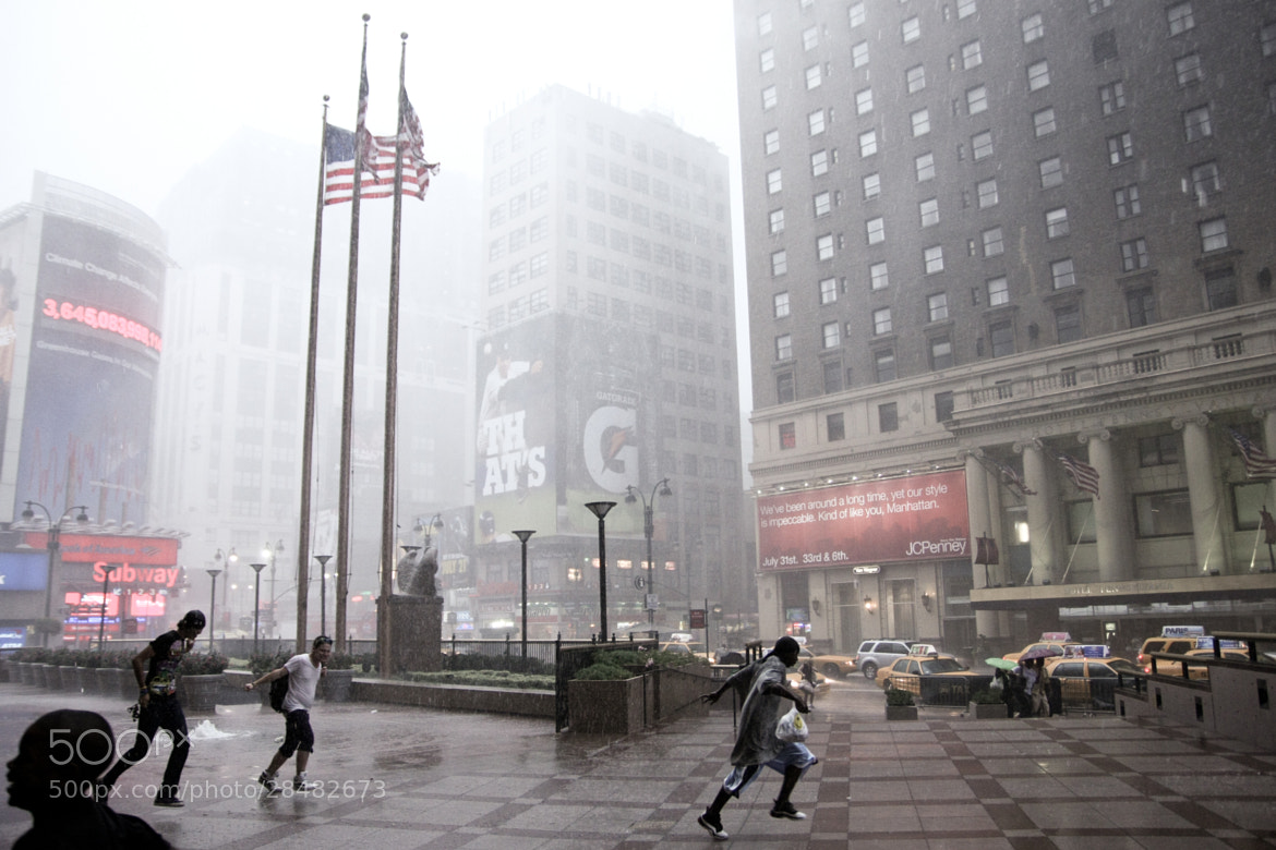 Photograph Madison Square Garden - Rain by Philippe Siccardi on 500px