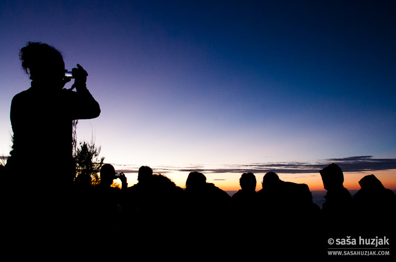 Photograph Tourists waiting for sunset over Mount Bromo by Saša Huzjak on 500px
