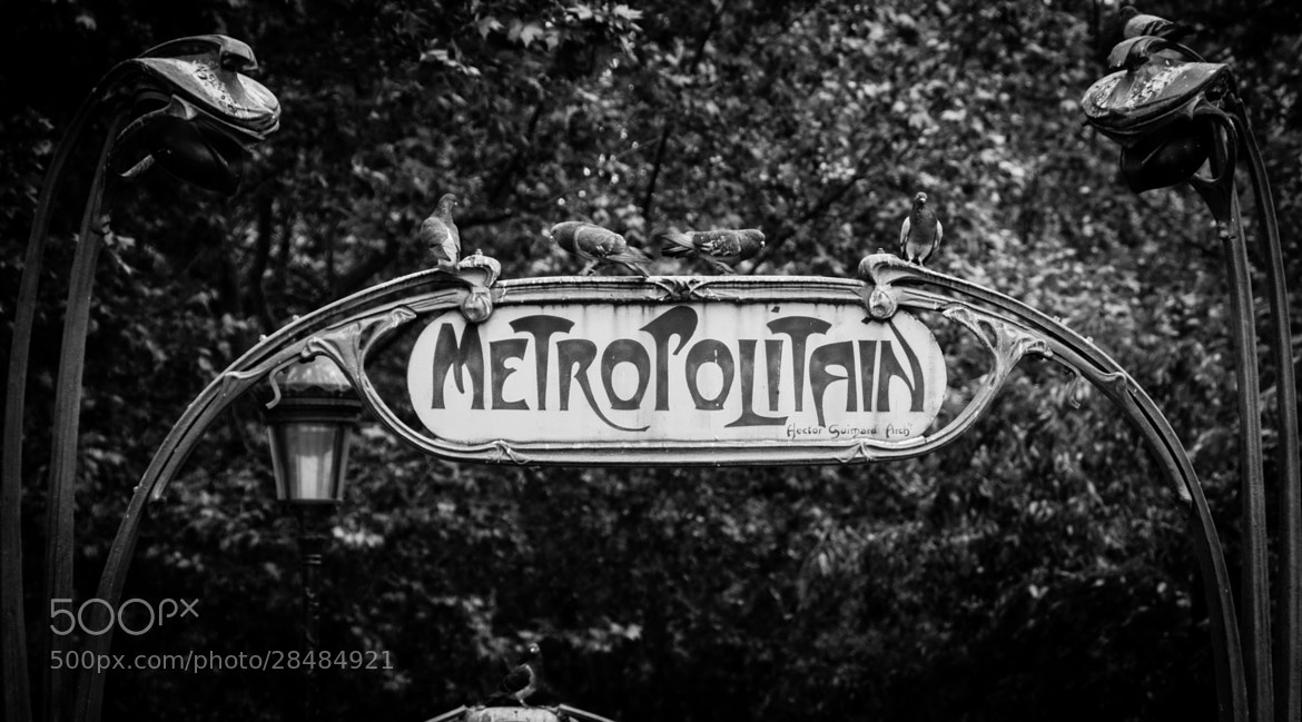 Photograph Metropolitain by Christian  MICHEL on 500px