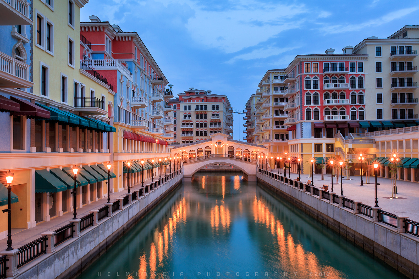 Photograph Qanat Quartier Qatar by Helminadia Ranford on 500px