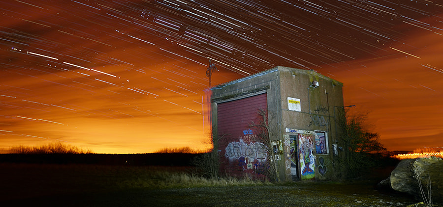Photograph Tayport Star Trails by Ian Potter on 500px