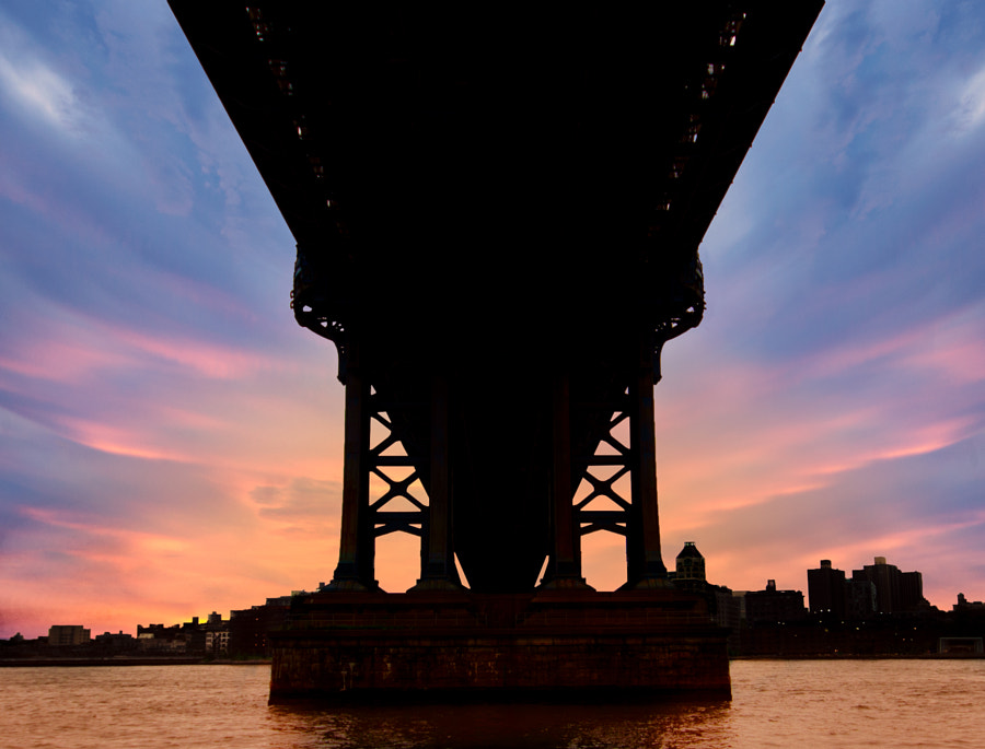 Brooklyn In Silhouette by Robert Schmalle on 500px.com