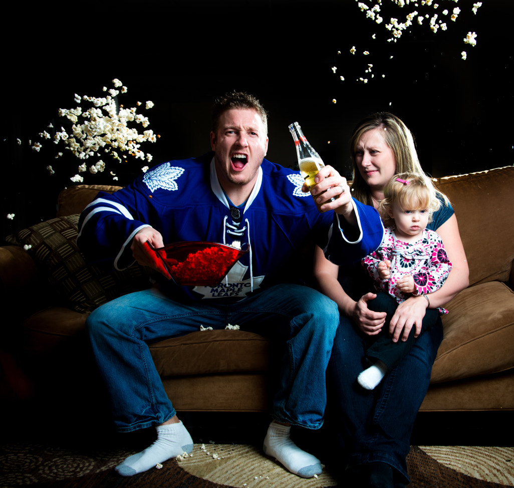 Photograph A hockey fan by Justin Russo on 500px