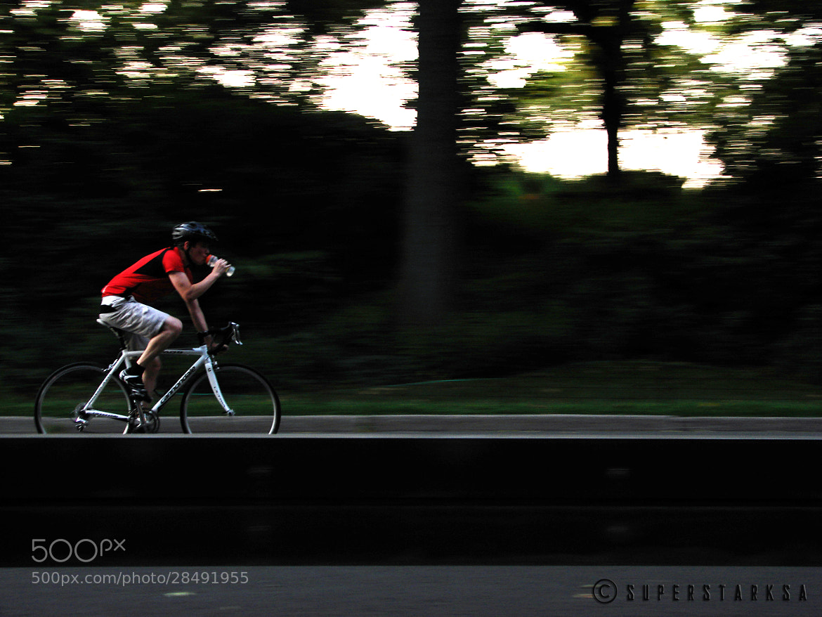 Photograph Cyclist in Central Park by Ananthanarayanan Subramanian on 500px