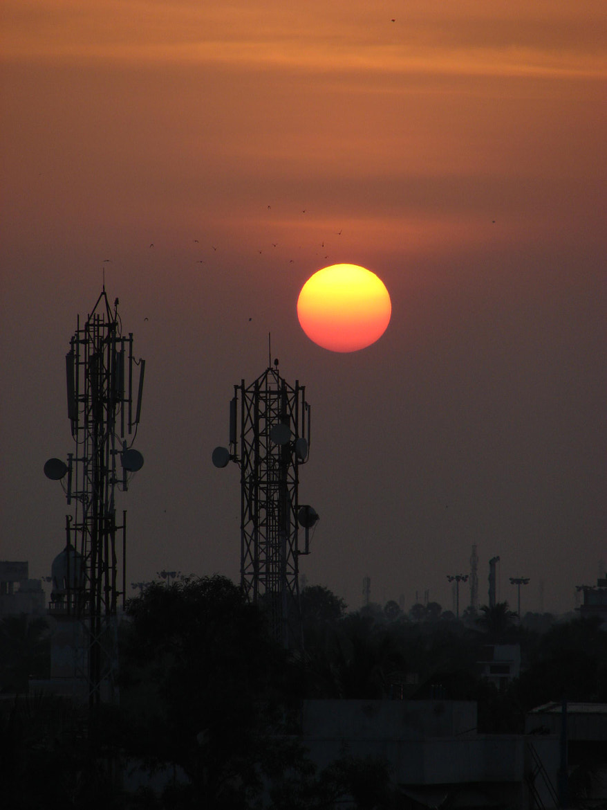 Photograph Sunset over Chennai by Ananthanarayanan Subramanian on 500px
