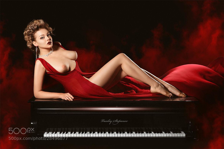 Photograph Piano girl by Vasiliy Stepanov on 500px