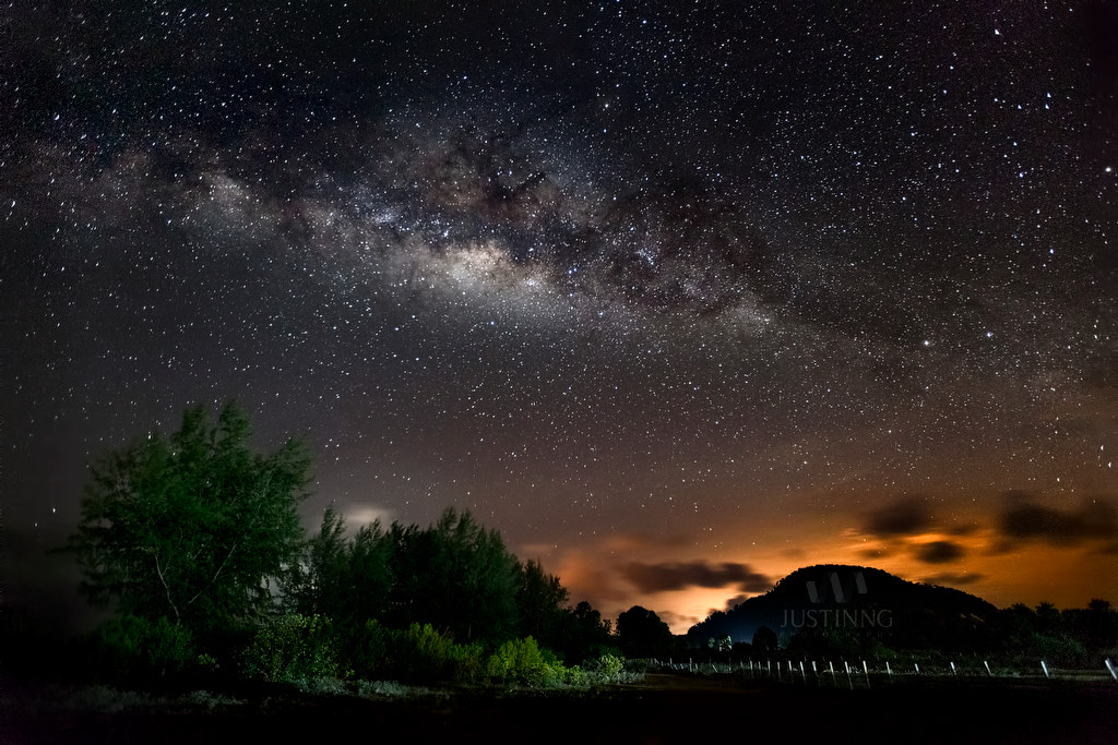 Photograph Milky Way by Justin Ng on 500px