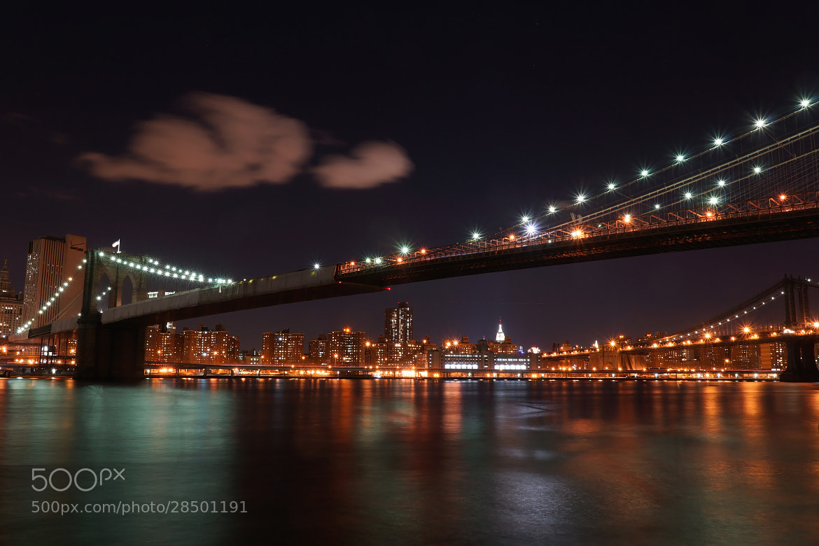 Photograph Brooklyn Bridge by Olivier Garnier on 500px