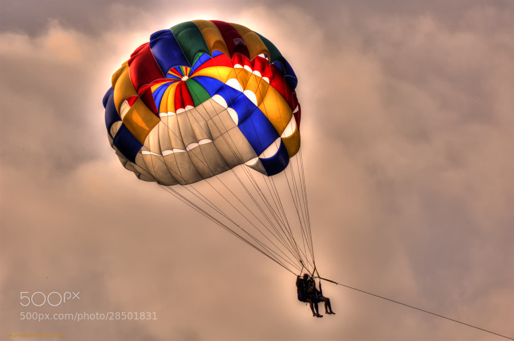 Photograph Parasailing... by Haşim Temir on 500px
