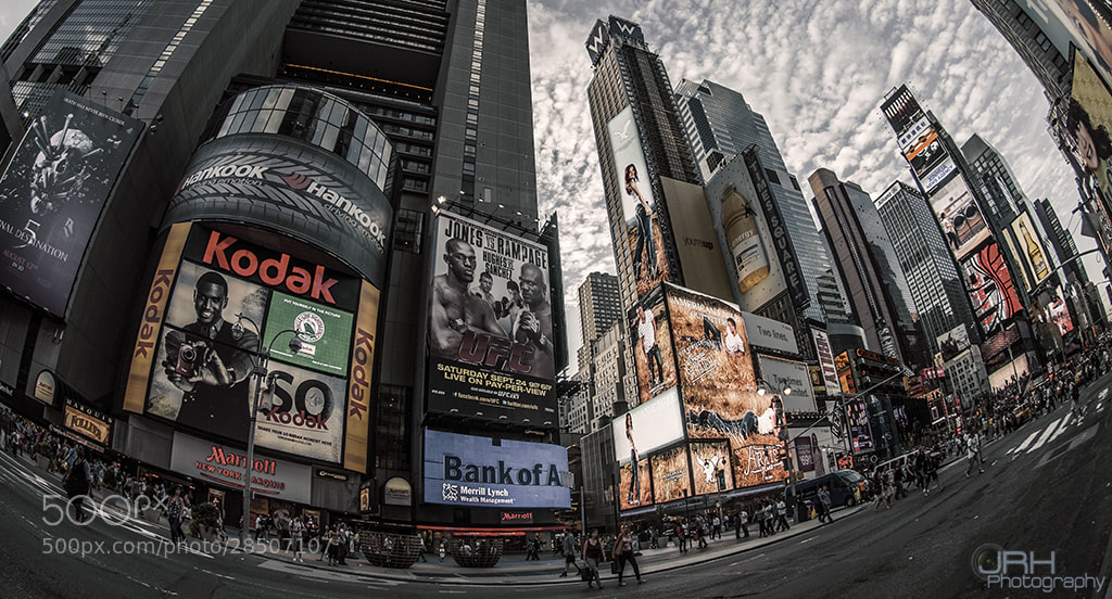 Photograph Times $quare by Julian Harrisson Ritz on 500px