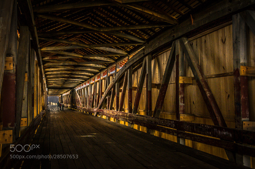 Photograph Medora Covered Bridge by Kevin Otolski on 500px