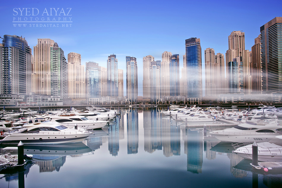 Photograph Misty Morning @ Dubai Marina by Syed Aiyaz Uddin on 500px