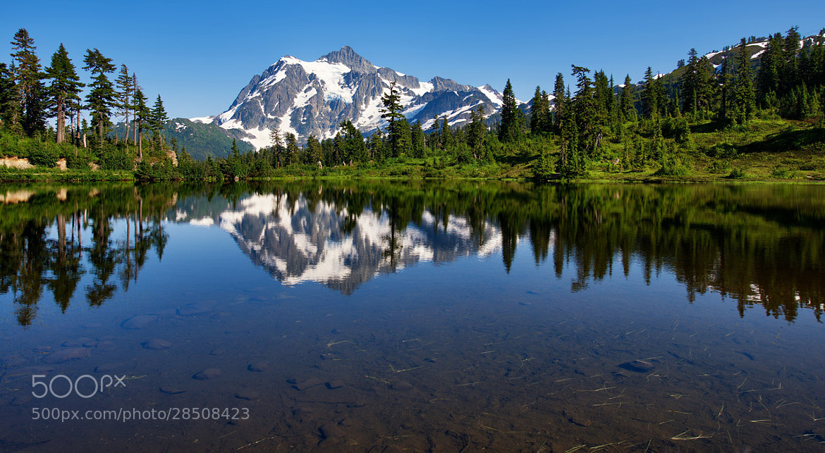 Photograph Mt Shuksan Reflections by Joseph Eckert on 500px