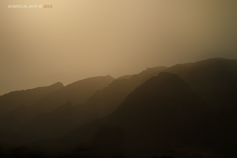 Photograph Gradients mountains by AHMED AL-AUFI on 500px