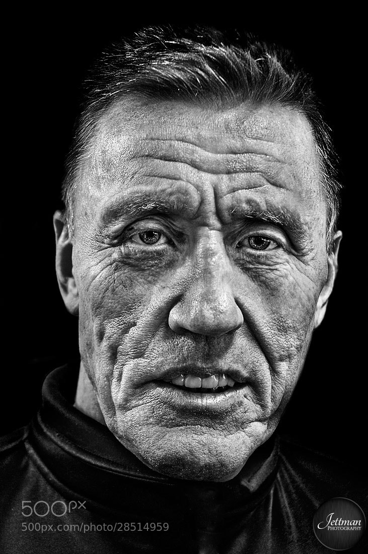 Photograph The Legend - Börje Salming by Oscar Jettman on 500px