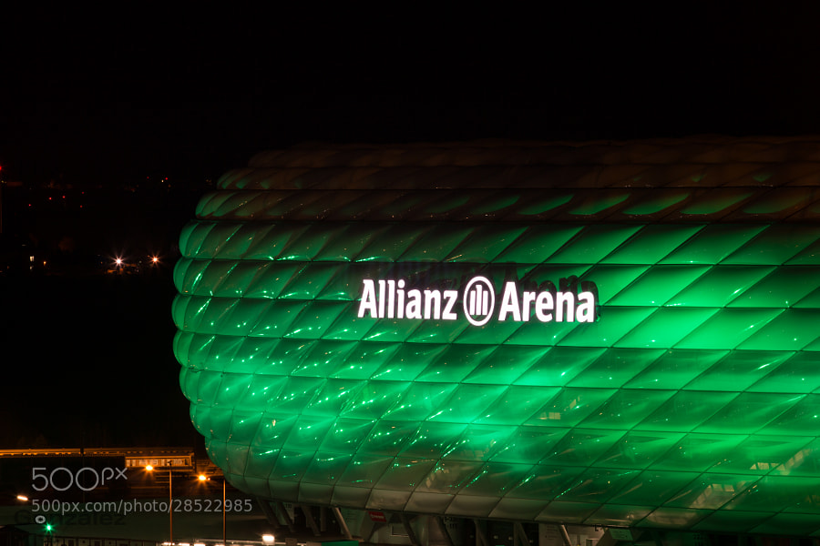 Green Allianz Arena by Juan Carlos González Delgado (jcgonzalezdelgado)) on 500px.com