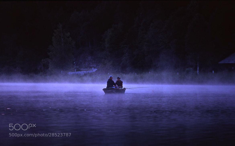 Photograph pescatori sul lago by giorgio fronda on 500px