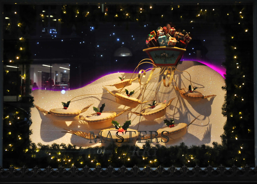 Fortnum & Mason Christmas Windows by Sandra  on 500px.com