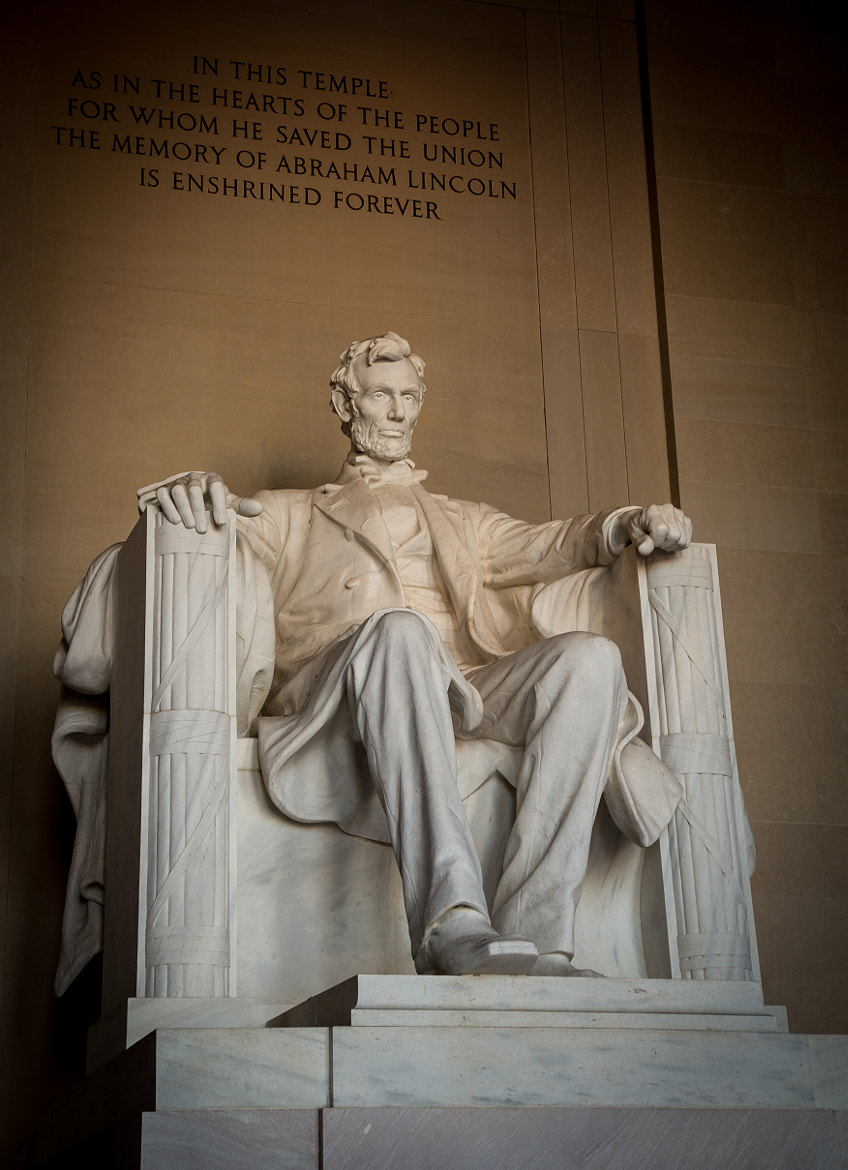Photograph Abraham Lincoln Statue by Scott Nelson on 500px