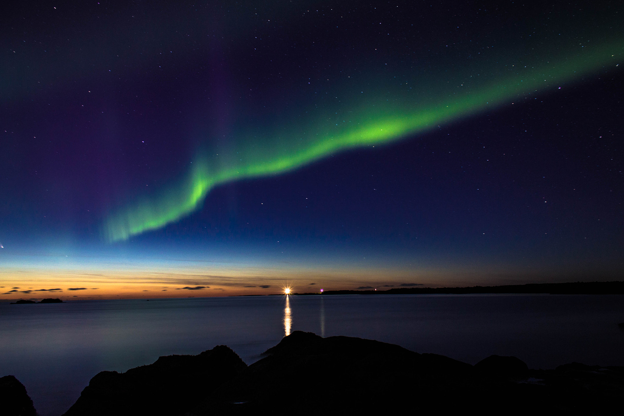 Photograph Northern lights by Kristófer Máni Axelsson on 500px