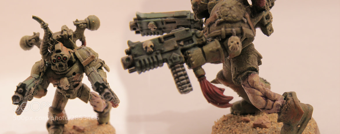Photograph Chaos Space Marine conversion by Kim Sellstedt on 500px