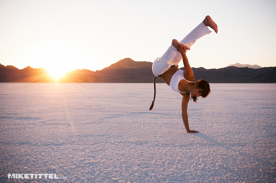 Photograph Salt Flats Capoeira by Mike Tittel on 500px
