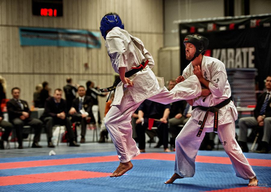 Karate kick - hdr