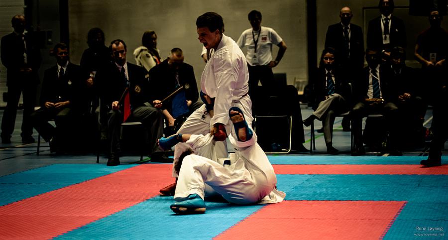Stian Bagroen vinner Karate NM 2013