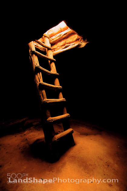 Photograph Ladder to the Light by Lonnie Shull on 500px